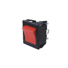 Electrical Locking Rocker Switch with LED Light