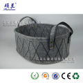 Hot sale customized felt storage bag basket