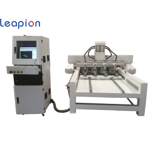 Multi-head 4 Spindle CNC router machine