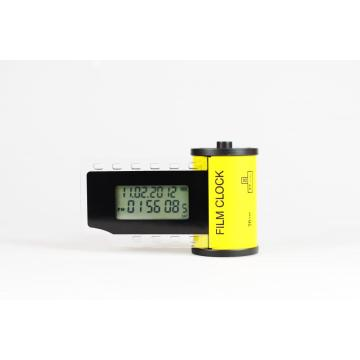 Mini Size Film Alarm and Digital Desk Clock