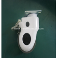 3 Inch Plate Swivel TPR Material Medical Caster Wheel