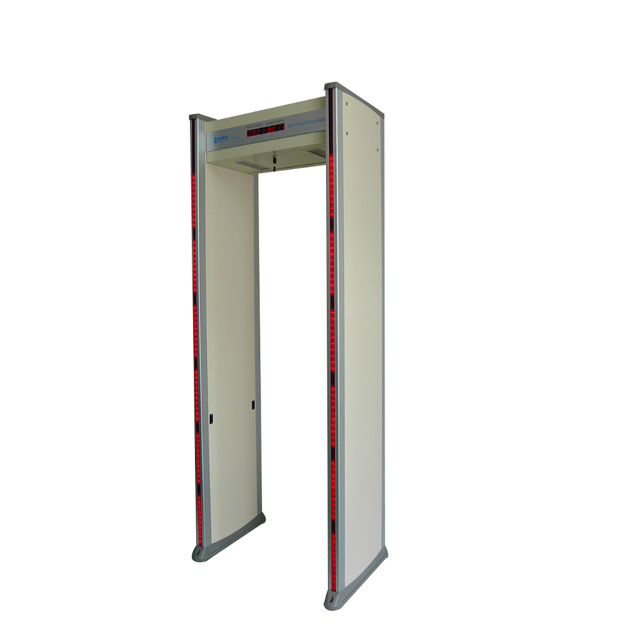 6 zone walk through metal detector sale