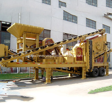 Good User Reputation for for Mobile Combined Crusher Mobile Combined Stone Crusher Plant export to Congo, The Democratic Republic Of The Supplier