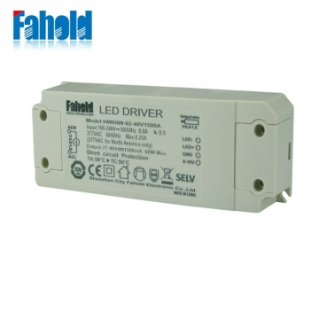 0-10V Likhoeli tsa Panel Power Supply 60W