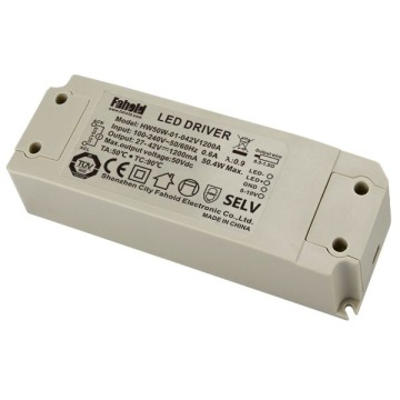 50W flicker-free dimming led driver