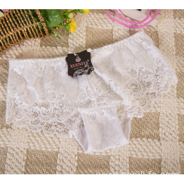 WHOLESALE BOYSHORT SEXY WHITE G- STRING UNDERWEAR PANTIES FOR WOMEN 7586