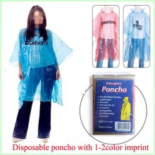 High Quality for PE Poncho disposable PE colorful rain cape supply to Russian Federation Exporter