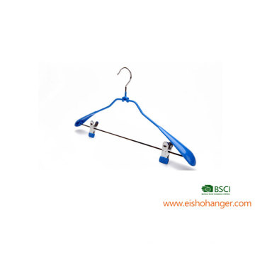 EISHO PVC Coating Metal Hanger With Clips