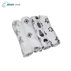 Supply for for Cotton Bedding Custom Knitted Small Size Muslin Kid Blanket supply to Portugal Suppliers