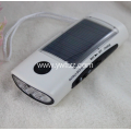 Multi-functional Solar Outdoor Portable Radio Flashlight