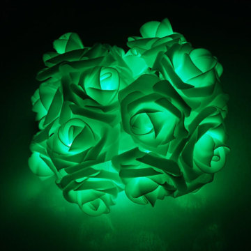 100% Original for Flower String Lights Green Led Rose Flower String Party Light supply to Svalbard and Jan Mayen Islands Manufacturer