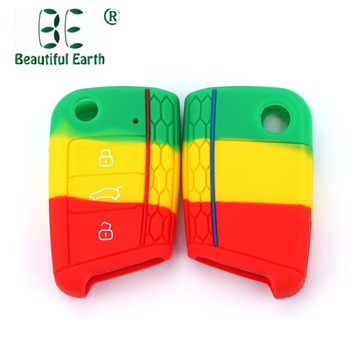 Volkswagen Silicone Car Key Cover For Mk7 Golf
