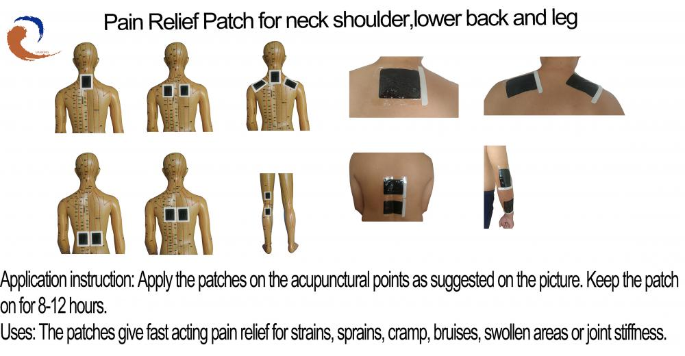 Pain Relief Patch For   Bone Injuries