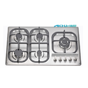 Stainless Steel Gas Stove 5 Burners