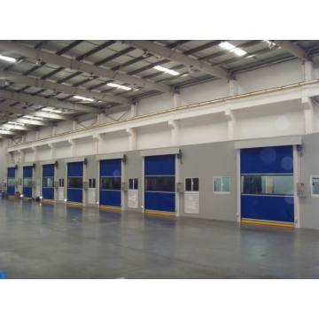 PVC Curtain Automatic High Speed Rolling up Door