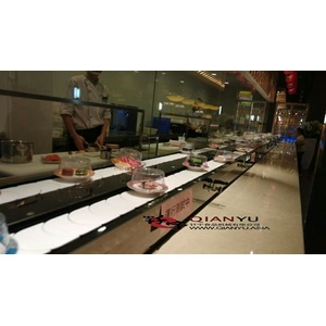Factory directly for Double-Track Rotary Sushi Conveyor Belt Factory Price Latest Patterns Conveyor Belt export to Italy Exporter