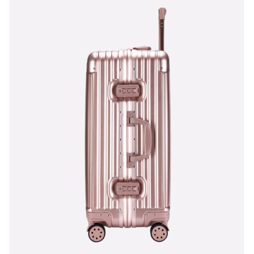 Light travel luggage with lock