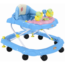 Fancy Car Shaped Baby Walker with Light