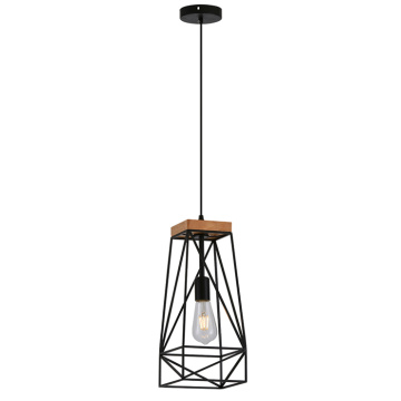 Industrial Style Lamp Vintage Metal Cage Ceiling Lamp