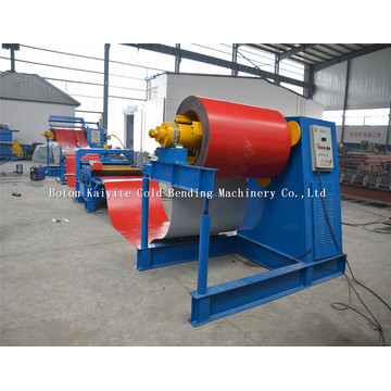 Steel Coil Slitting Machine With Decoiler And Recoiler