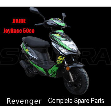 JIAJUE Revenger 50cc Complete Motorcycle Spare Parts