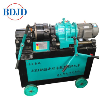 easy operate rebar thread rollilng machine