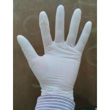 no smell high sensitivity white vinyl gloves