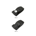 Black ZDC Cabinet Hasp Latch Toggle Lock