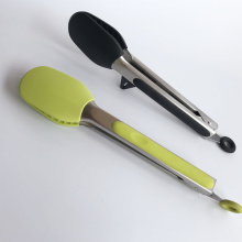 Kitchen Tongs With Built-in Stand