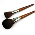 Kunsthaar Make-up Pinsel Set mit Holzgriff