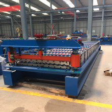 corrugated sheet wall cold roll forming machine