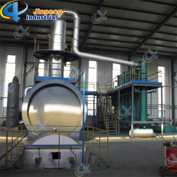 Tire Oil Distillation Plant to Diesel