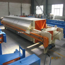 Filter-Cloth Washing Coal Wishing Chamber Filter Press
