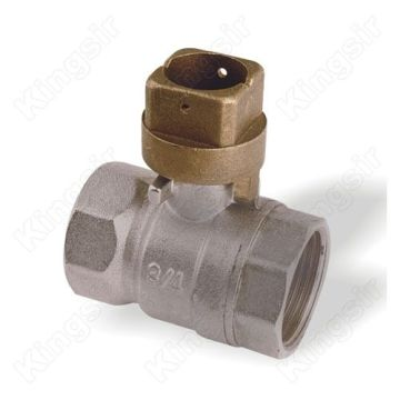 Brass Ball Valve With Locking Cap