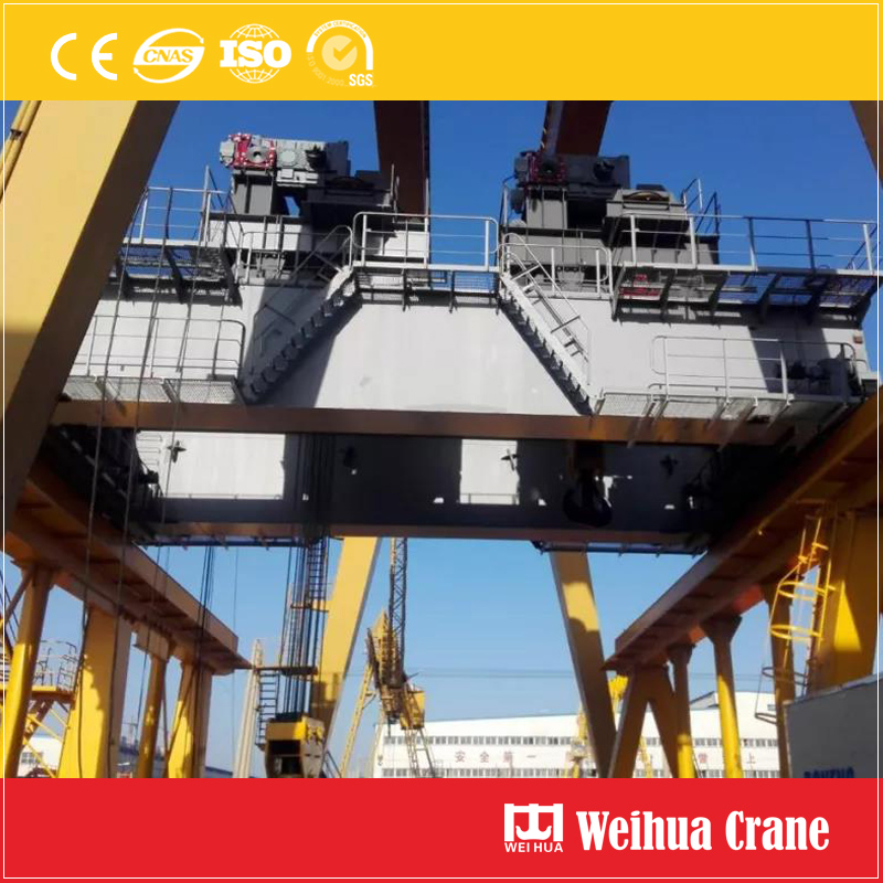 500t Overhead Crane On Ship