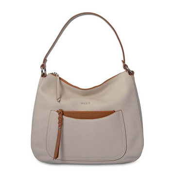 Large Slouchy Hobo Weekend Bag Women Beige