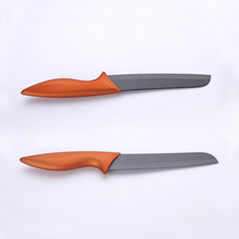 6 Inches Copper Handle Black Ceramic Chef Knife