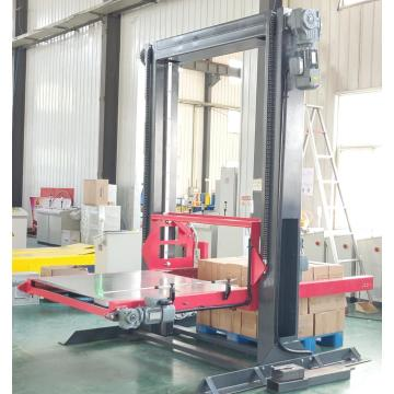 Semi-automatic palletising machine
