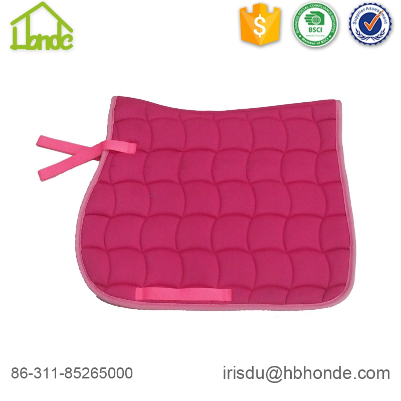 Polycotton Breathable Lining Customized Pattern Saddle Pad