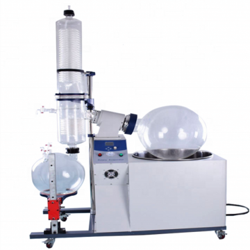 large capacity 100L stainless steel rotary evaporator