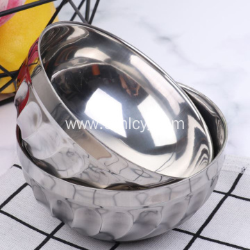 New Stainless Steel Chinese Children's Bowl with Spoon