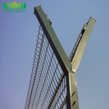 High Security Metal Anti Climb Airport Fence