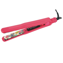Spring Mounted Tourmaline LED Light Hair Straightener