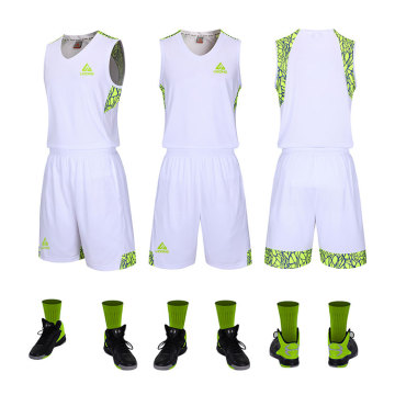 Wholesale youth latest basketball uniform jersey