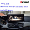 W212 Screen Android 10.25 Mercede-Benz үчүн Tablet