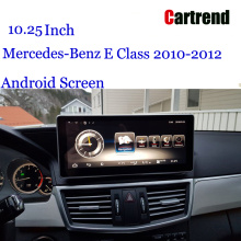 W212 Screen Android 10,25 Tablet pikeun Mercede-Benz