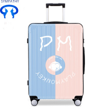 Cheapest Factory for Offer PU Luggage Set, PU Luggage Sets, PU Luggage Bags from China Manufacturer Tourist box student cartoon code box bar box export to Djibouti Manufacturer