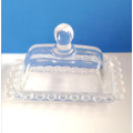 Hand Made Bead Crystal Glass Butter Box