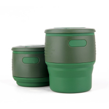 Factory directly for Silicone Collapsible Folding Mug Silicone Collapsible Coffee Cup export to Indonesia Factories
