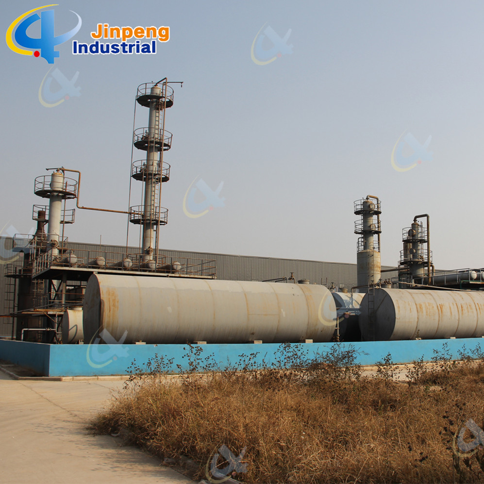 Continuous Waste Plastic Oil Purifier Machine